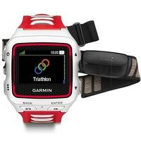 Фото Беговые часы Garmin Forerunner 920XT White/Red Bundle 010-01174-31