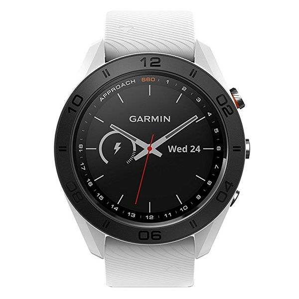 Часы для гольфа Garmin Approach S60 White 010-01702-01 video