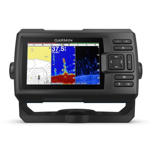 Морской навигатор Garmin Striker Plus 5cv 010-01872-01 video