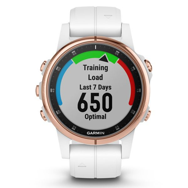 Спортивные часы Garmin Fenix 5S Plus Sapphire 010-01987-07 video