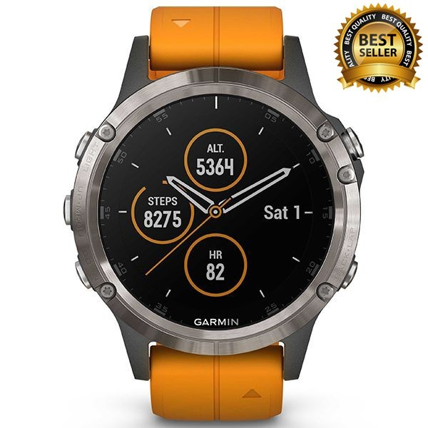 Спортивные часы Garmin Fenix 5 Plus Sapphire 010-01988-05  video