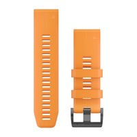 Фото Ремешок Garmin Fenix 5X Plus 26mm QuickFit Spark Orange Silicone 010-12741-03