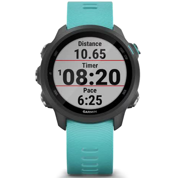 Часы Garmin Forerunner 245 Music Aqua 010-02120-32 video