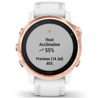 Фото Спортивные часы Garmin Fenix 6S Rose Gold-tone with White Band 010-02159-11