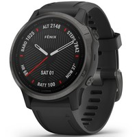 Спортивные часы Garmin Fenix 6S Carbon Gray DLC with Black Band 010-02159-25