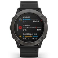 Фото Спортивные часы Garmin Fenix 6X Carbon Gray DLC with Black Band 010-02157-11