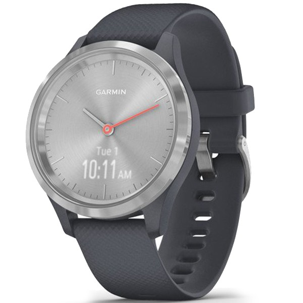 Фитнес часы Garmin vivomove 3S Sport Silver-Blue 010-02238-20 video