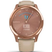 Фото Фитнес часы Garmin vivomove Luxe Rose Gold-Beige 010-02241-21