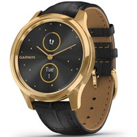 Фото Фитнес часы Garmin vivomove Luxe Pure Gold-Black 010-02241-22