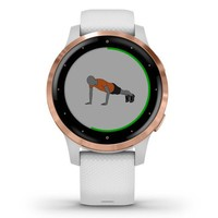 Фото Фитнес часы Garmin vivoactive 4S White-Rose Gold 010-02172-23