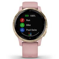 Фото Фитнес часы Garmin vivoactive 4S Dust Rose-Light Gold 010-02172-33
