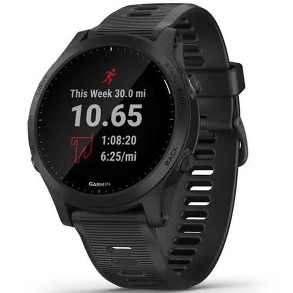 Часы Garmin Forerunner 945 Black 010-02063-01 video