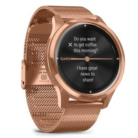 Фото Фитнес часы Garmin vivomove Luxe Rose Gold-Black 010-02241-24